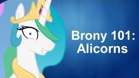 Brony 101 Alicorns