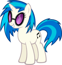Vinyl Scratch by MoongazePonies