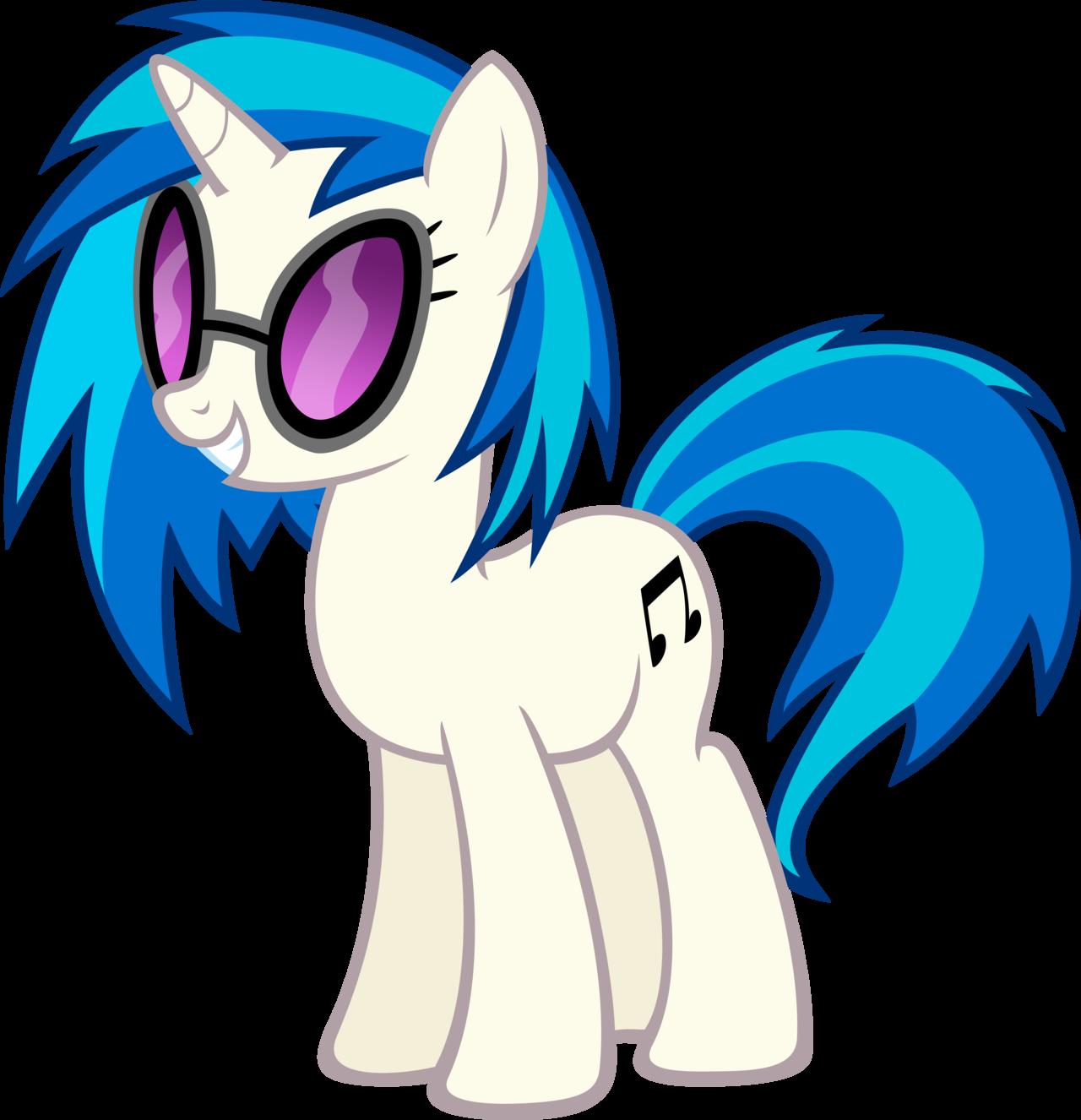 Vinyl Scratch My Little Pony Fan Labor Wiki Fandom