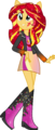 Equestria Girls Sunset Shimmer Rainbowfied by TheShadowStone.png