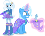 Trixie and trixie by hampshireukbrony-d6n8rls