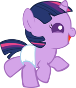 Happy baby twilight sparkle by mighty355-d6t0csr