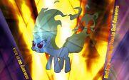 Twilight Sparkle (Rapidash) wallpaper by artist-helsoul3