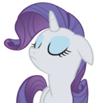 Rarity being classy by helgih