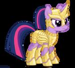 Twilight Sparkle armoured by artist-larsurus
