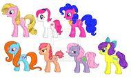 FIM My Little Pony Tales Girls by kaoshoneybun