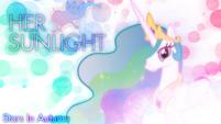 Princess Celestia background wallpaper by artist-kibbiethegreat