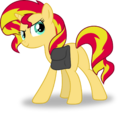 Sunset Shimmer sees you looking at her plot by Hourglass-Vectors.png