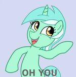 Lyra 'Oh you' reaction pic