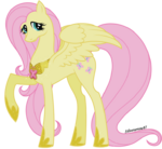 Element of kindness adult Fluttershy by Silverarrow87