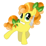 Carrot Top Crystal Pony