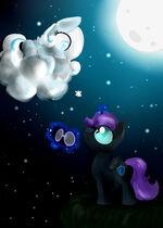 Night nad Snowflake by Alice4444DM