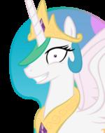Princess Molestia's face