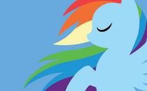 Artist-megasweet rainbow dash wallpaper