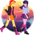Sunset and Twilight by MagneticSkye.png