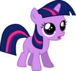 Filly twilight gasping