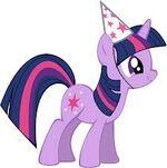 Twilight Sparkle Birthday Hat