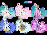 Princess Celestia costumes 2 by artist-blackm3sh
