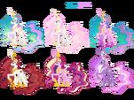 Princess Celestia costumes by artist-blackm3sh