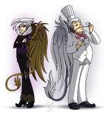 Gilda and Gustave by GlancoJusticar