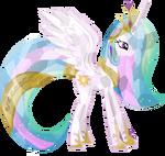 Crystallized Princess Celestia by artist-hampshireukbrony