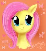 FlutterShy by Mn27