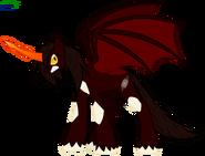Destroyah pony by faith wolff-d6heo0w