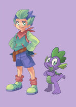 Spike by sapphire1010