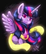 MLP FIM Possessed Twilight Sparkle by Joakaha