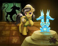 Daring Do and the Quest for the Sapphire Stone by LaurenMagpie.jpg