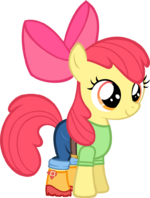 Apple bloom equestria girls clothing by zacatron94-d6xvom6