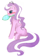 FANMADE 53254 - Diamond Tiara artist crappyunicorn edit mirror older