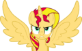 Alicorn Sunset Shimmer Furious by Mighty355.png