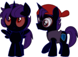 Nox Colt of the Night by Itoruna-The-Platypus