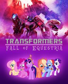 Transformers fall of equestria cover by edcom02-d8613kl