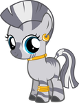 Zecora Filly by MoongazePonies