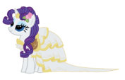 Rarity the gala bride