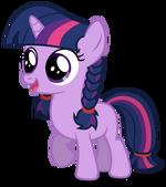 Twilight Sparkle filly alternate manestyle by artist-austiniousi