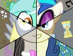 Background pony Mane 6 segmented