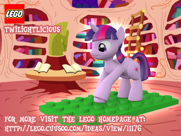 Image - MLP-LEGO-Twilight-Sparkle.png | My Little Pony Fan Labor ...