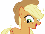 Applejack tired, no background 2