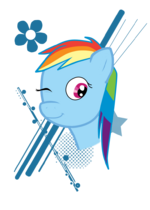 Rainbow Dash-Blink by jucika009