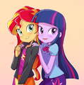 Twilight and Sunset by baekgup.png