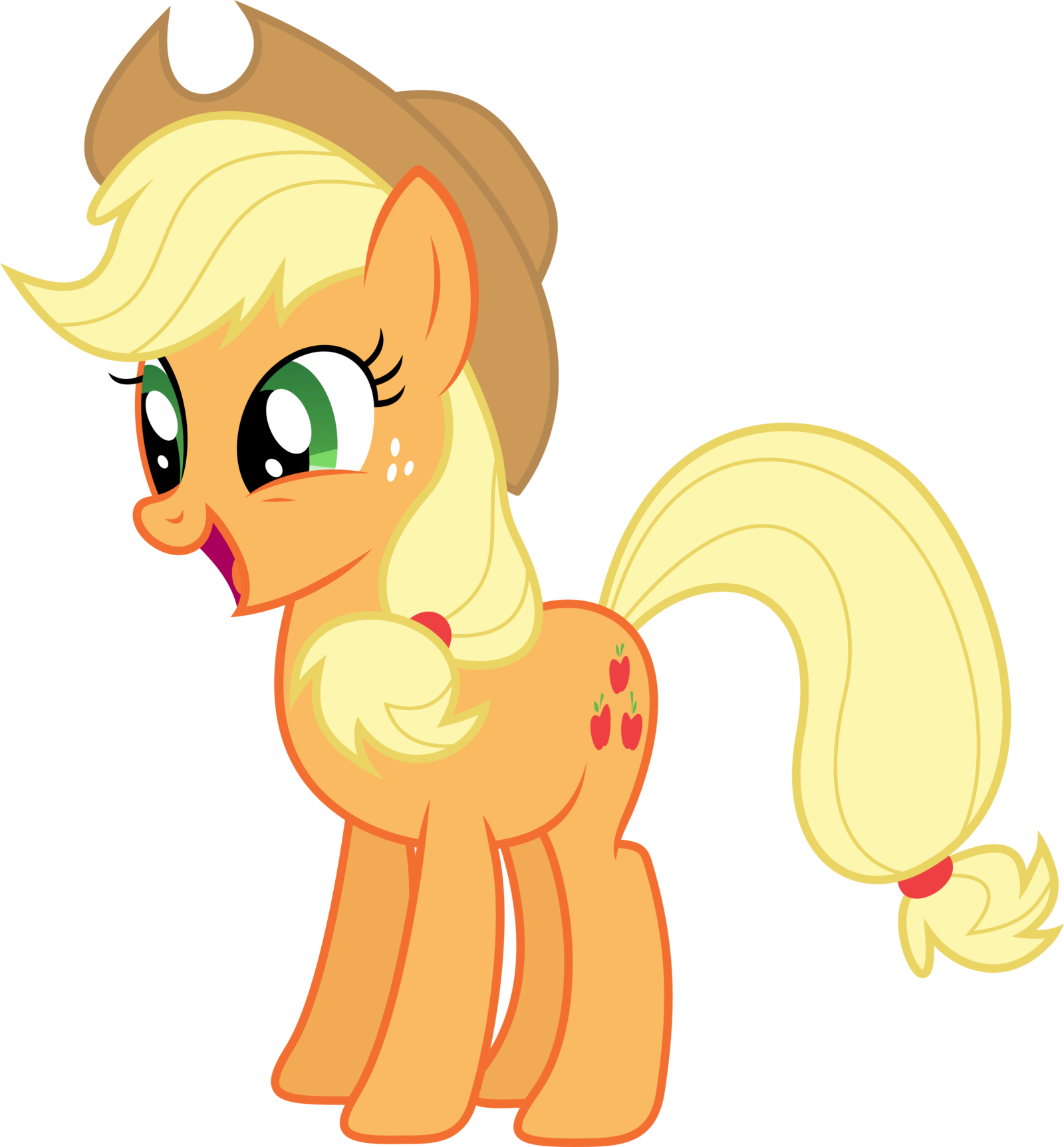 Image - Applejack 3 by xpesifeindx-d5gsde5.png | My Little Pony Fan ...