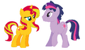 Dusk Shine x Sunset Shimmer by TigerPrincessKaitlyn.png