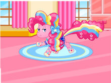 Pinkie Pie Rainbow Power Style