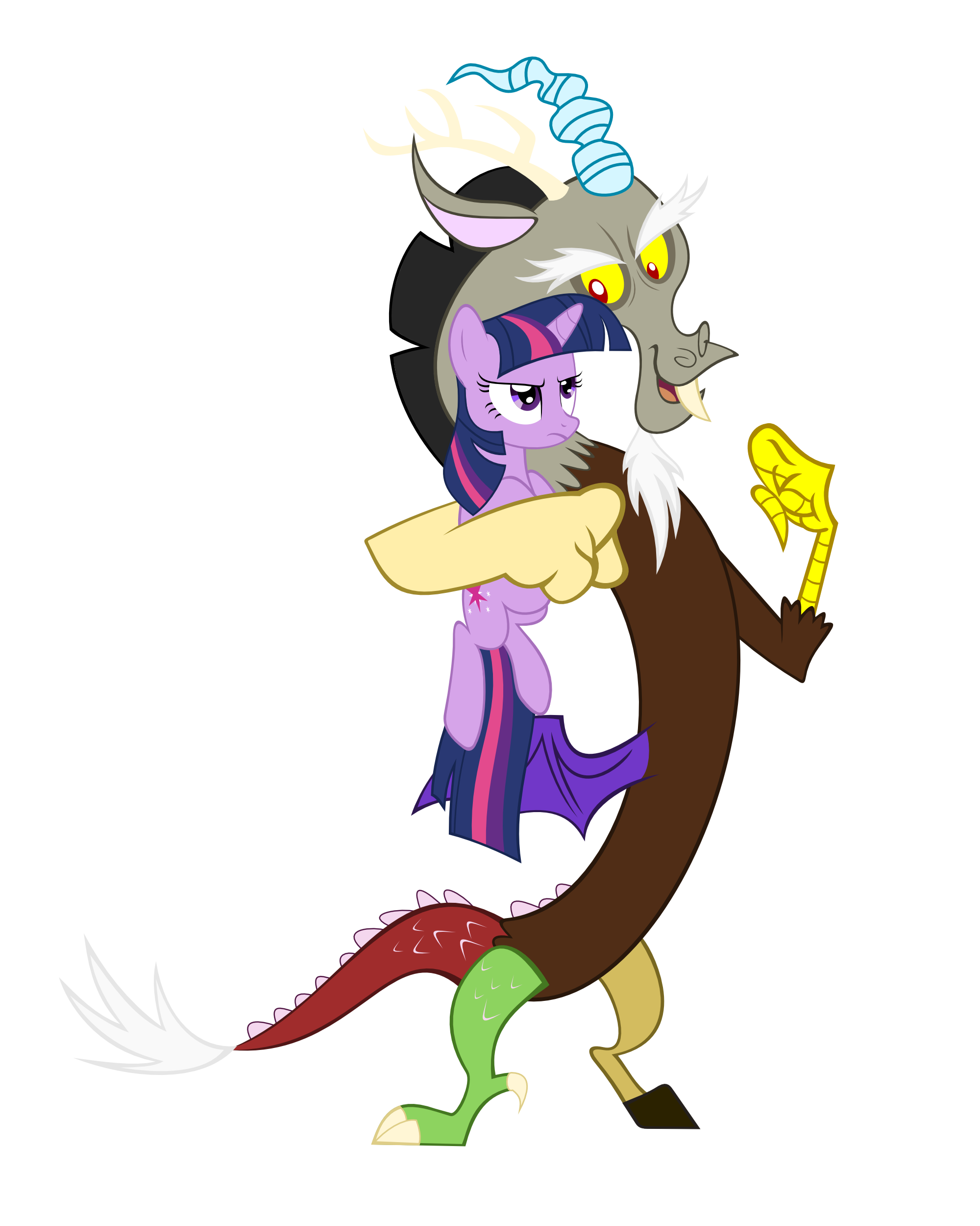 Discord/Twilight Sparkle | My Little Pony Friendship is
