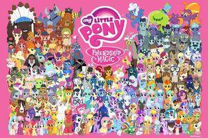 MLP Facebook 'One Million Friends' poster