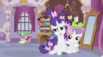 "Rarity ""Little bit dirty"" S2E05"