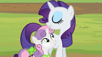 "Rarity and Sweetie Belle ""the spa of course"" S02E05"